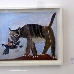Katze mit Vogel - Picasso