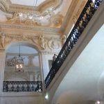 Treppenhaus Decke im Picasso Museum Paris