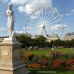 Großes Riesenrad in den Tuileries Gärten