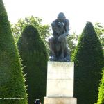Skulptur der Denker Garten  Rodin Museum