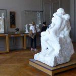 Skulptur der Kuss Rodin Museum