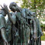 Les Bourgeois de Calais Rodin Museum Paris