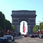 Triumphbogen & Champs-Elysées am 8. Mai