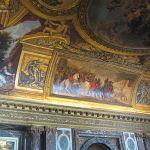 Deckengemälde im Schloss Versailles