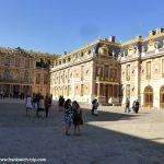 Innenhof Schloss Versailles