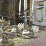 Tafelsilber im Schloss Versailles