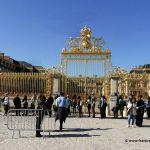 goldenes Tor Schloss Versailles