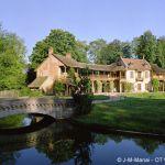 Dorf der Königin (Hameau de la Reine) in Versailles
