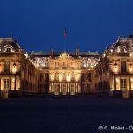 Schloss Versailles bei Nacht