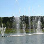 Wasserspiele im Park von Schloss Versailles
