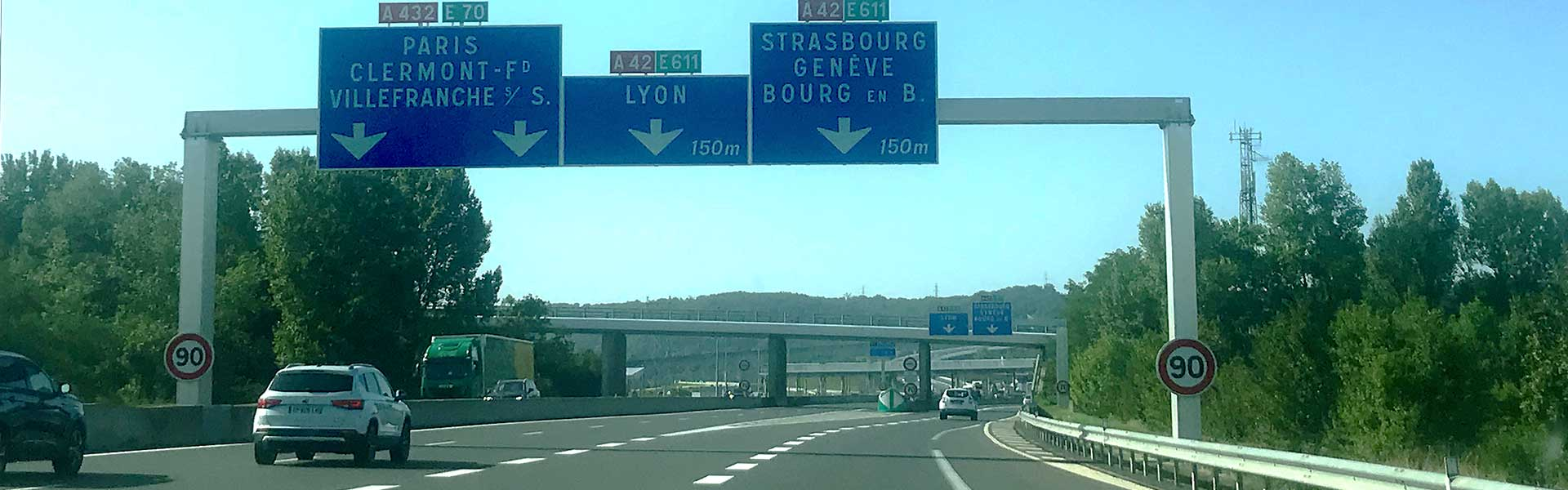 Maut in Frankreich, Routenplaner