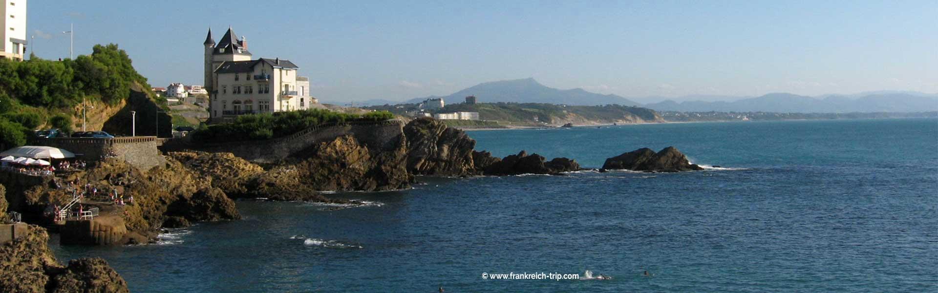 Biarritz Urlaub südliche Atlantikküste Frankreich