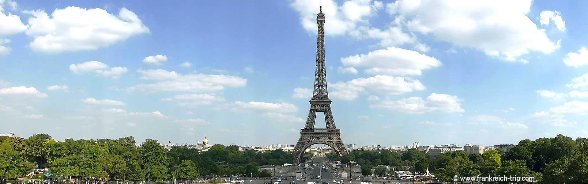 Eiffelturm das Wahrzeichen von Paris