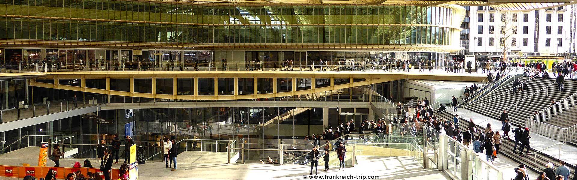 Paris Les Halles shopping
