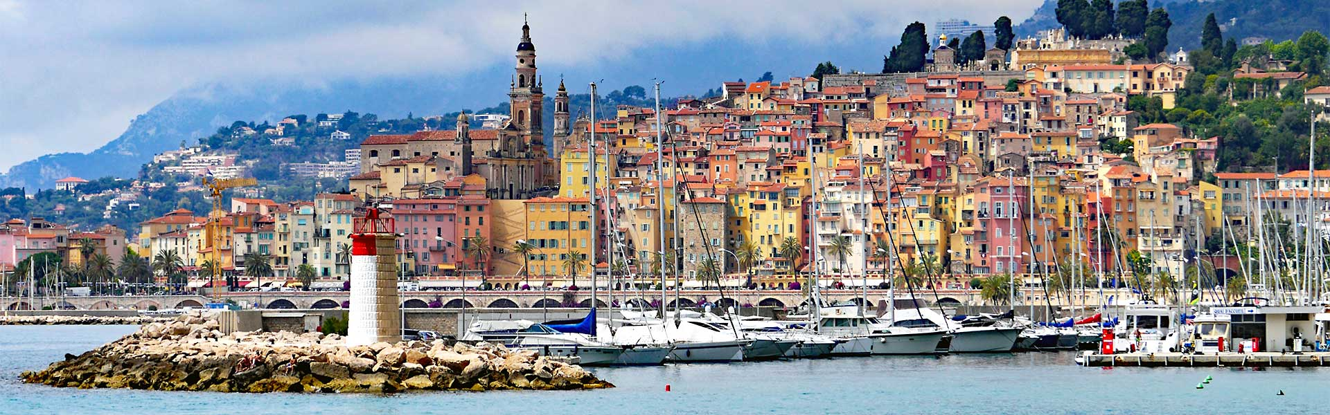 Menton Urlaub in Südfrankreich