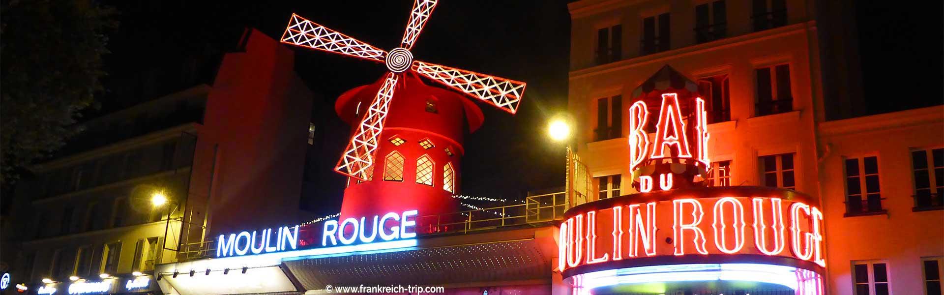 Paris Sehenswürdigkeiten Moulin Rouge