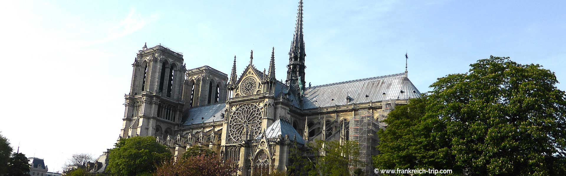 Notre Dame Sehenswürdigkeit Paris