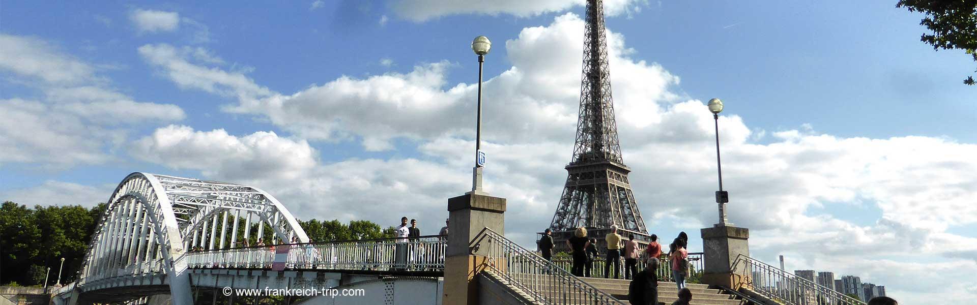 Stadtspaziergang in Paris zu Fuß