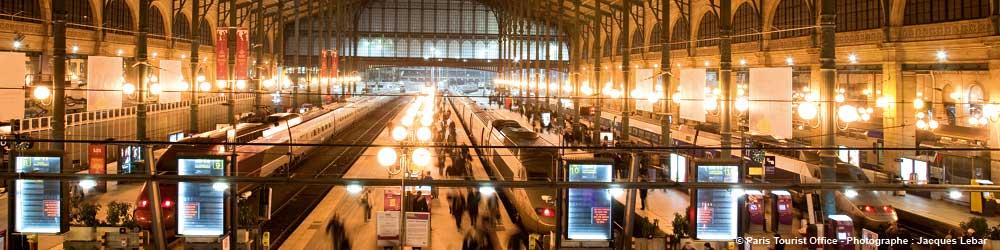 Paris Bahnhof Gare du Nord