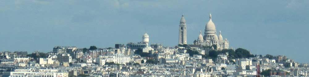 Montmartre Sacré Coeur Paris