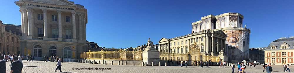 Schloss Versailles Sehenswürdigkeiten