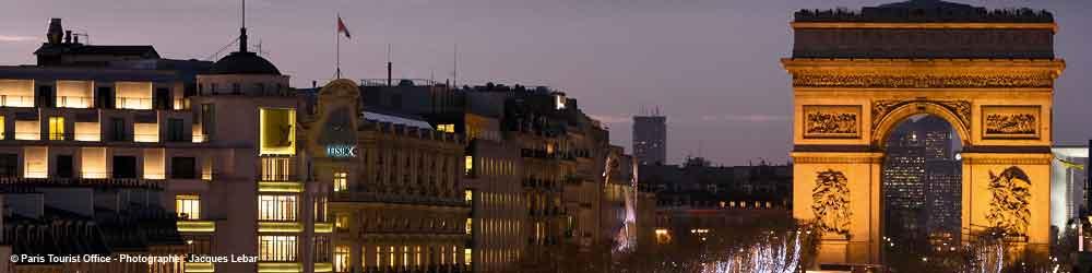 Paris Sehenswürdigkeiten Triumphbogen