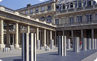Palais Royal, Paris © Paris Tourist Office - Photographe : Jordane Blachas - Architecte : Daniel Buren