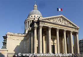 Panthéon Paris, © www.frankreich-trip.com - Photographe : K. Reimer
