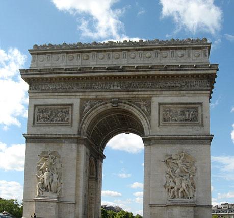 Triumphbogen (Arc de Triomphe) Paris